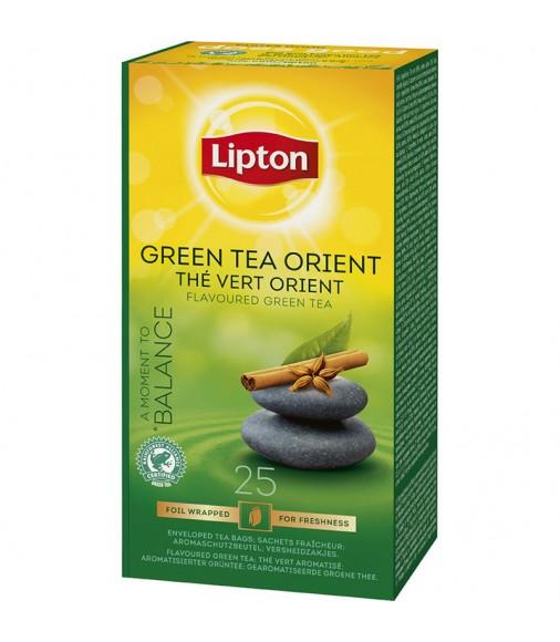 Зелен чай Lipton Green Tea Orient 25 пакетчета