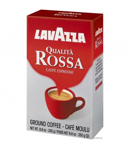 Кафе на зърна Lavazza Qualita Rossa 250 гр.