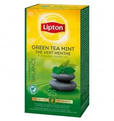 Зелен чай Lipton Green Tea Mint 25 пакетчета