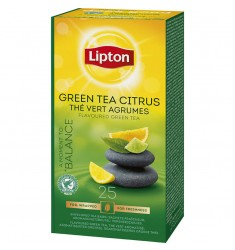 Зелен чай Lipton Green Tea Citrus 25 пакетчета