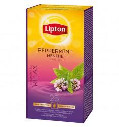 Билков чай Lipton Peppermint Menthe 25 пакетчета