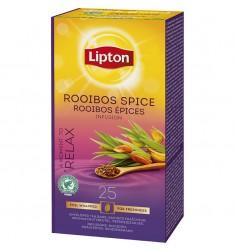 Плодов чай Lipton Rooibos Spice Infusion 25 пакетчета