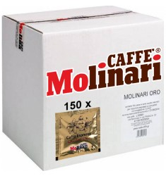 Кафе на дози Molinari Qualita Oro кутия 150 x 7 гр.