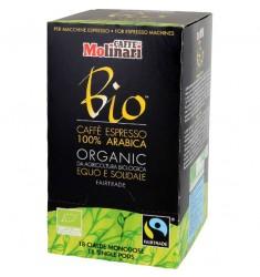 Кафе на дози Molinari Bio кутия 18 x 7 гр.