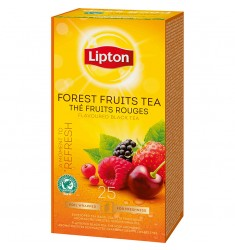 Черен чай Lipton Forest Fruit Tea 25 пакетчета