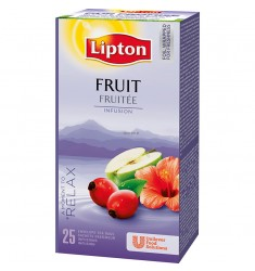 Плодов чай Lipton Fruit Infusion 25 пакетчета