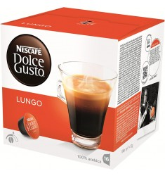 Кафе на капсули Nescafe Dolce Gusto Lungo 16 x 7 гр.