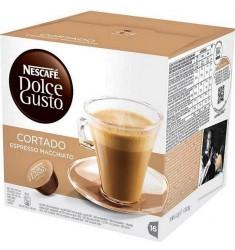 Кафе на капсули Nescafe Dolce Gusto Cortado Espresso Macchiato 16 x 6.3 гр.