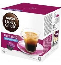 Кафе на капсули Nescafe Dolce Gusto Espresso Decaffeinato 16 x 6 гр.