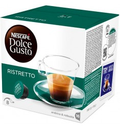 Кафе на капсули Nescafe Dolce Gusto Espresso Ristretto 16 x 6.5 гр.