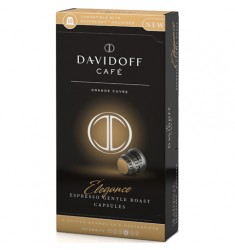 Кафе на капсули Davidoff Espresso capsуles Elegance (NESPRESSO съвместими капсули) 10 x 5,5 гр.