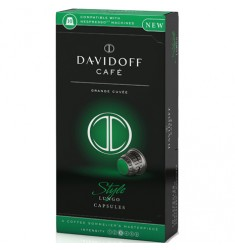 Кафе на капсули Davidoff Style lungo capsules (NESPRESSO съвместими капсули) 10 x5.5 гр.