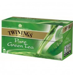 Зелен чай TWININGS Pure Green 25 пакетчета