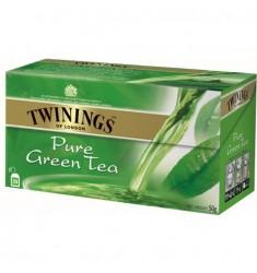 Зелен чай TWININGS Pure Green 25 пакетчета