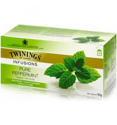 Билков чай TWININGS Peppermint 25 пакетчета