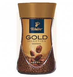 Инстантно кафе Tchibo Gold selection instant NEW 200 гр.